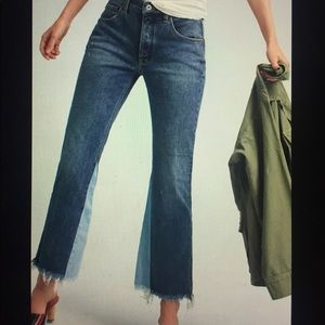 Pilcro high rise flare jeans from Anthropologie